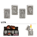 Assorted Eagle & Stars Wholesale Oil Lighters L174
