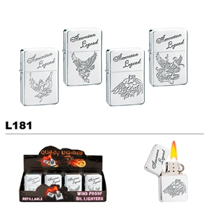 Assorted American Legend Wholesale Oil Lighters L181