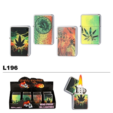 Assorted Marijuana Wholesale Oil Lighters L196