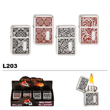 Assorted Designs Wholesale Oil Lighters L203