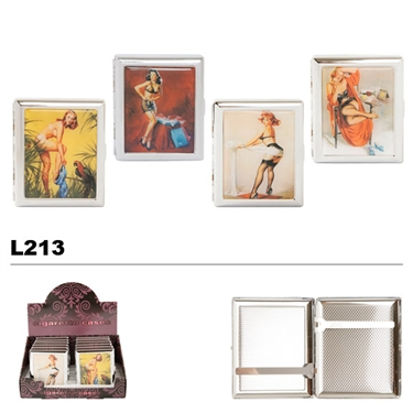 Assorted Ladies Cases for Cigarettes