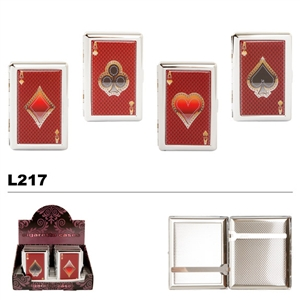 Playing Card Aces Cases for Cigarettes