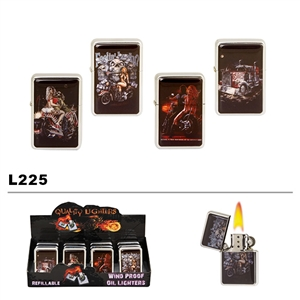 Assorted Motorcycle Wholesale Oil Lighters