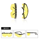 Wholesale Yellow Safety Glasses