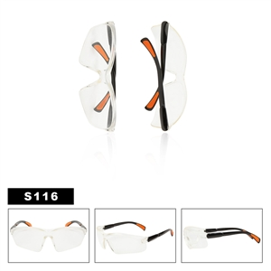Clear Lens Safety Glasses S116