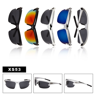 Nice looking sport sunglasses.