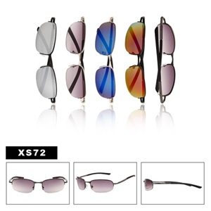 Men's Wholesale Sunglasses with Spring Hinge Temples