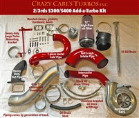 Crazy Carls Turbos 03-07 S300 2/3 Twin Turbo Kit w/475