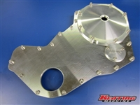 12 Valve Billet Front Timing Cover for Removable Gear
