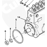 P7100 Injection Pump Seal Ring