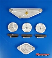 Common Rail 24 Valve Billet Freeze Plug Kit fits Cummins 5.9L & 6.7L