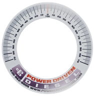 Magnetic Degree Wheel