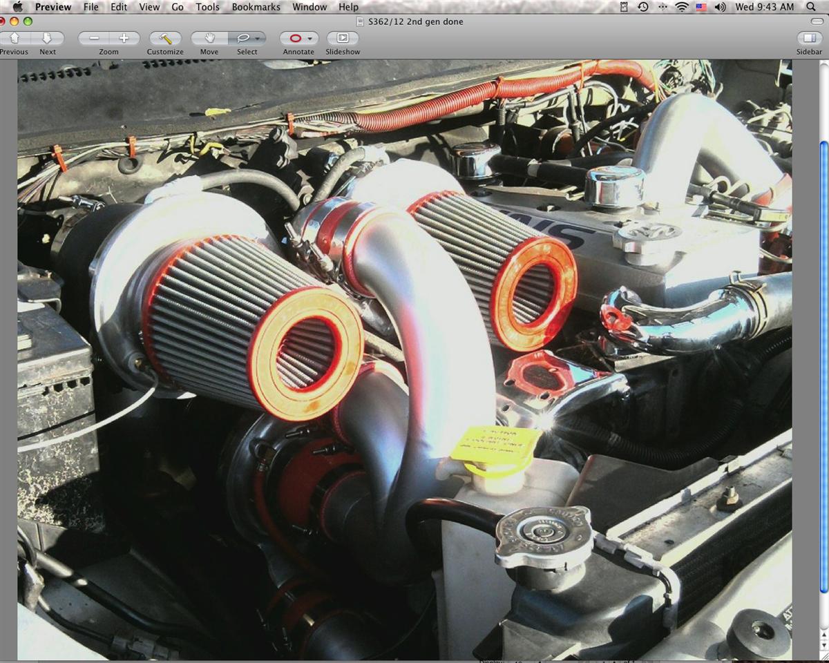 Crazy Carls Turbos >> Triple Turbo Kit