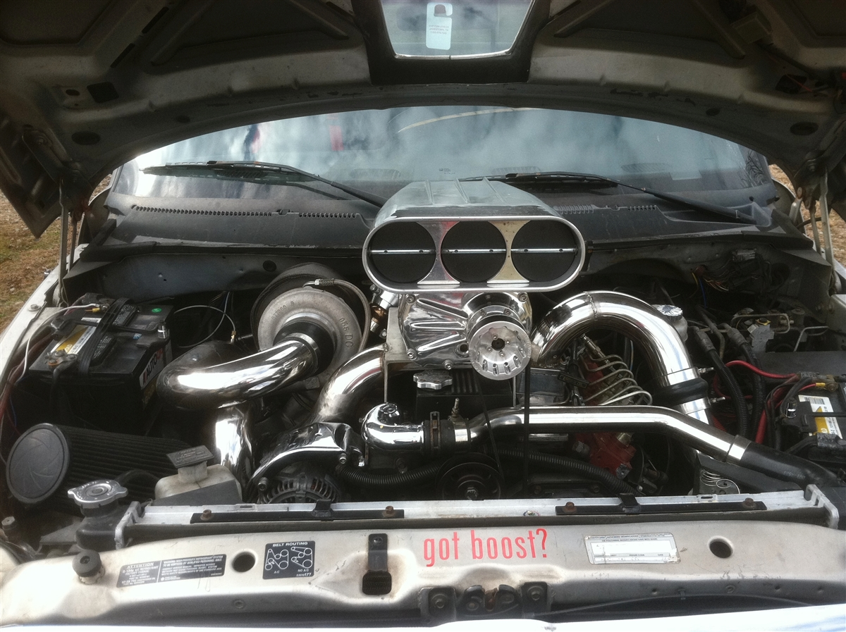 Crazy Carls Whipple Supercharger kit
