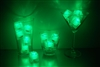 Emerald Green Jewel LiteCubes 3 Mode Light Up Ice Cubes