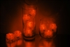Orange LiteCubes 3 Mode Light Up Ice Cubes