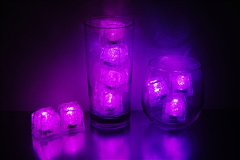 Pink LiteCubes 3 Mode Light Up Ice Cubes