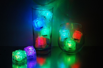 Rainbow LiteCubes 8 Mode Light Up Ice Cubes