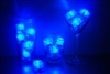 Sapphire Blue Jewel LiteCubes 3 Mode Light Up Ice Cubes