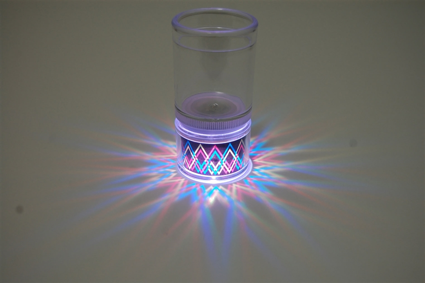 LiteRays LED Light Up Projection Shot Glasses- Dagger