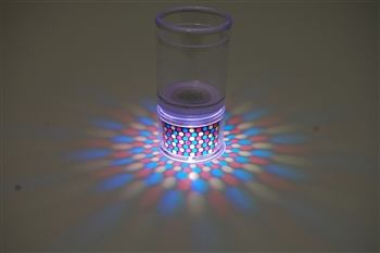 LiteRays Light Up Projection Shot Glasses- Dots