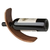 Curved Wooden Wine Bottle Stand
