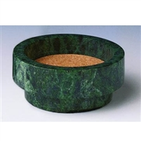 Marble Wine Coaster, Green | Cigar and Wine Stuff