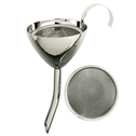 Classic Silver Plated Wine Decanter Funnel