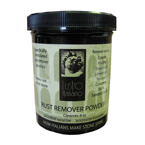 Poultice Powder for Removing Rust
