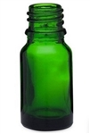 10ml Green Glass Euro Bottles, 768 Case