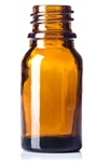 10ml Glass Amber Boston Round Bottle 768case