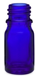 10ml Glass Cobalt Euro Bottles, 768 Case