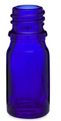 15ml Glass Cobalt Euro Bottles, 468 Case