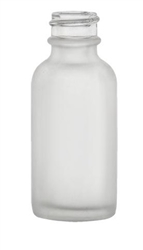 1oz. Frosted Boston Round Bottles, 324 Case