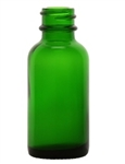 1oz. Green Glass Boston Round Bottles, 360 Case