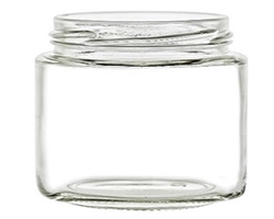 2oz. Clear Glass Jars, Bulk or MOD pack.