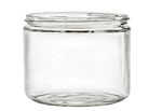 2oz. Clear Glass Jars, 216 Case