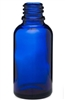 30ml Glass Cobalt Euro Bottles, 330 Case