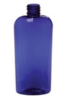 4oz. Oval Blue Bottes,390 Case
