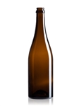 500ml Glass Amber Champagne Beer Bottles, 12 packs