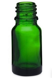 5ml Green Glass Euro Bottles, 765 Case