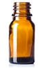 5ml Glass Amber Boston Round Bottle 768case