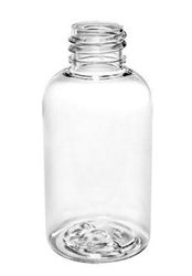 6oz Clear Boston Round Bottles, 320 case