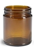 8oz. Amber Glass Jars, Bulk or MOD pack