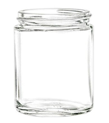 8oz. Clear Glass Jars, 2376