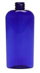 8oz. Oval Blue Bottles, 255 Case