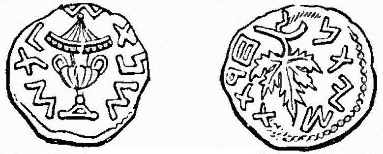 First Jewish Revolt Year 3 Prutah - 68CE