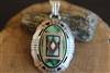Vintage Navajo Pendant signed by Gilbert Nelson