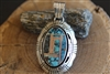 Navajo Pendant signed by Gilbert Nelson