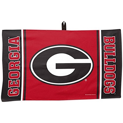 "Wincraft University of Georgia Bulldogs Waffle Towel 14""x24"""